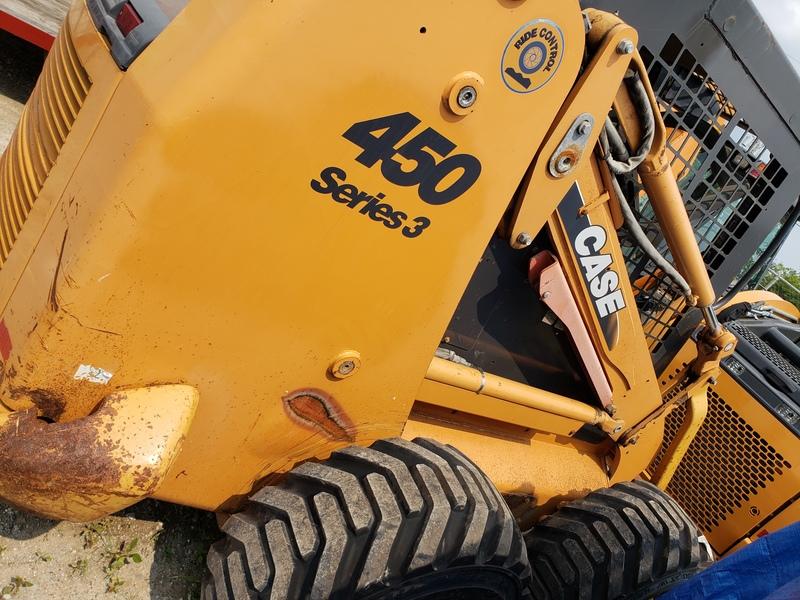 2008 Case 450-3 Skid Steer