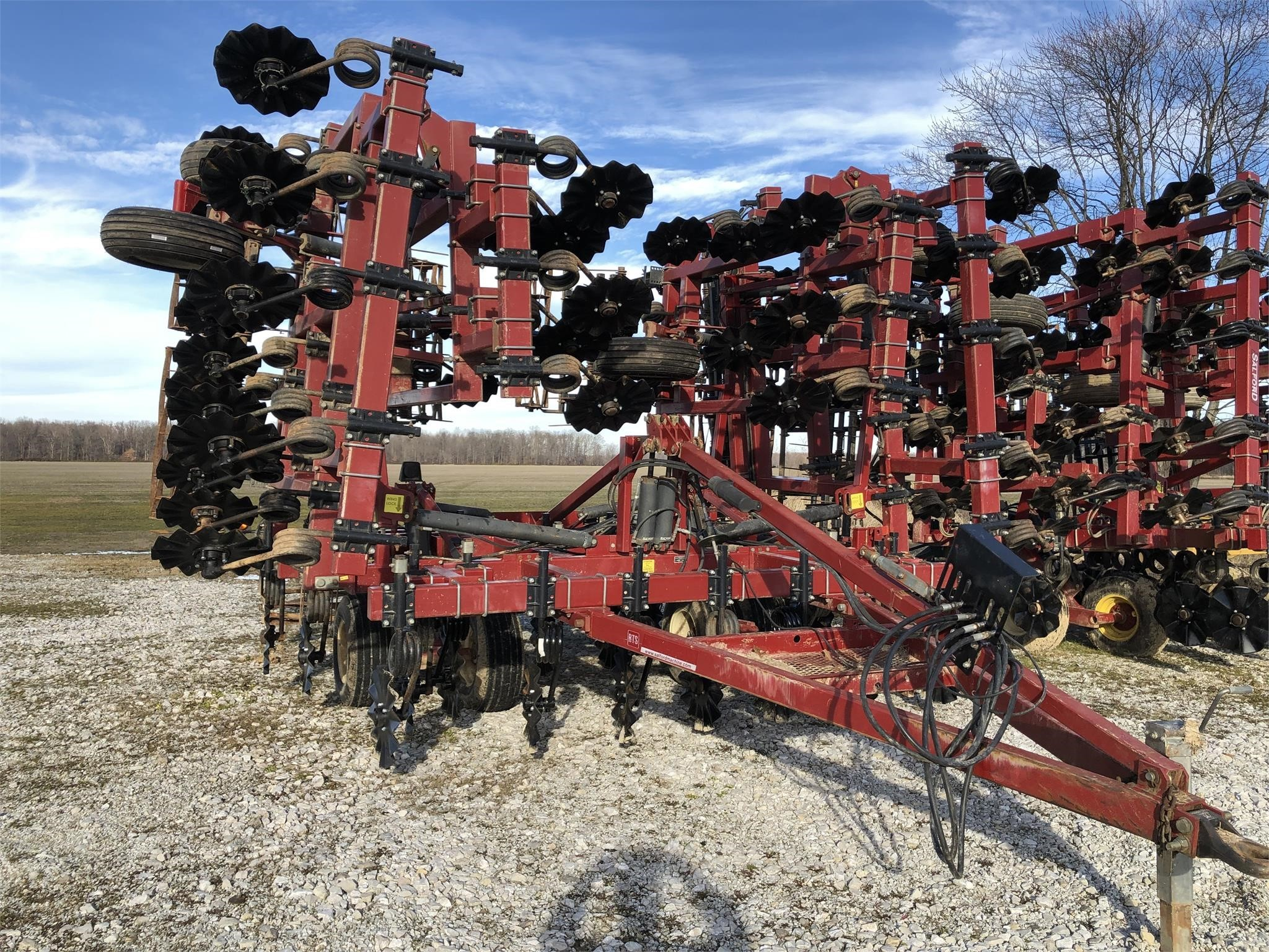 2011 Salford 570RTS Vertical Tillage