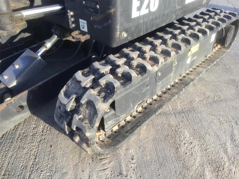 2016 Bobcat E20 Excavators and Mini Excavator