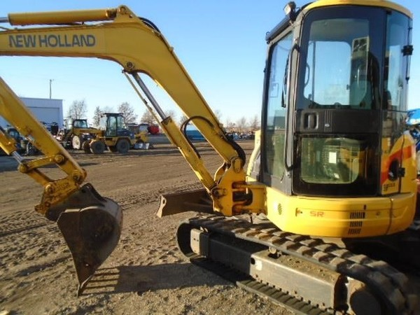 2005 New Holland EH50B Excavators and Mini Excavator