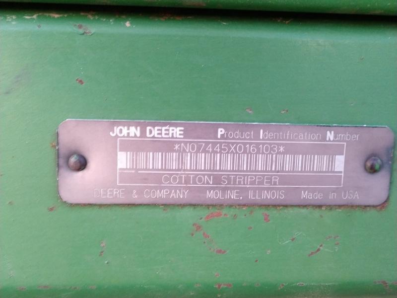 1994 John Deere 7445 Cotton
