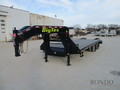 2019 Big Tex 22GN-20BK+5 Flatbed Trailer