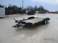 2018 Big Tex 70CH-18BKDT Flatbed Trailer