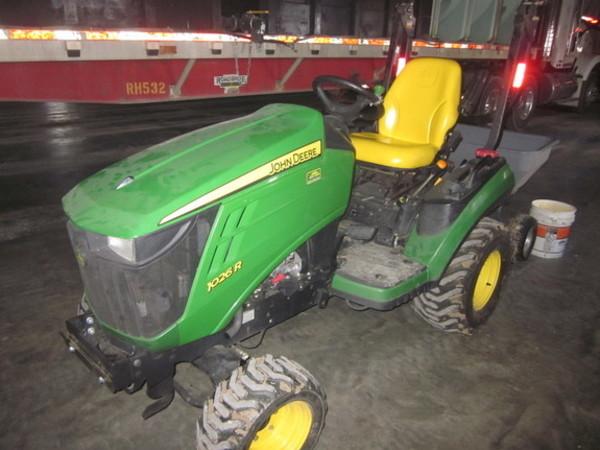 2011 John Deere 1026R Tractor