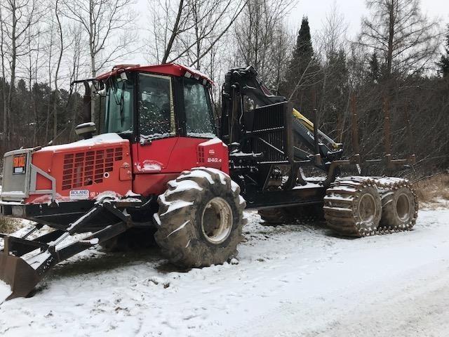 2008 Valmet 840.4 Forestry and Mining