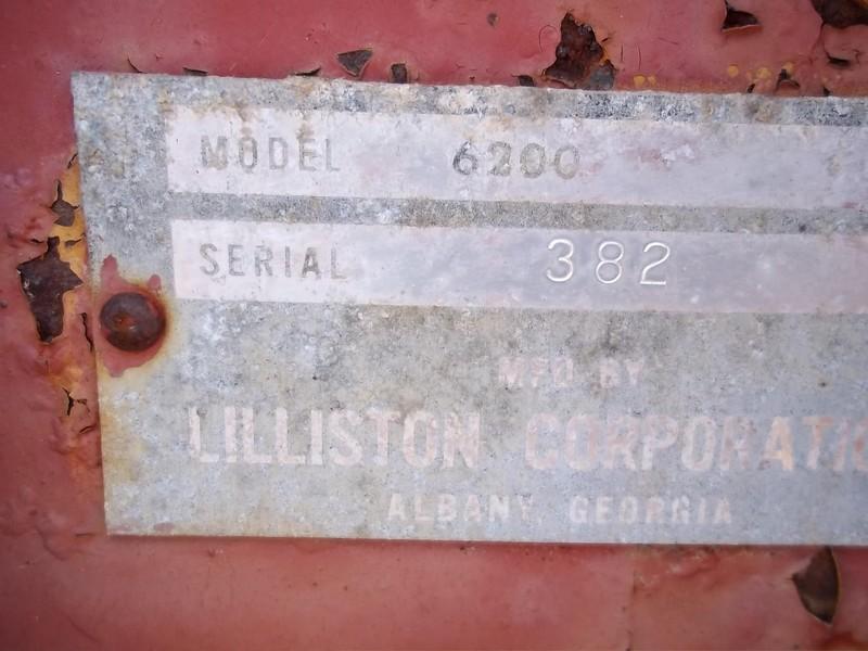 Lilliston 6200 Combine