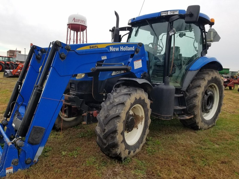 2004 New Holland TS115 Tractor