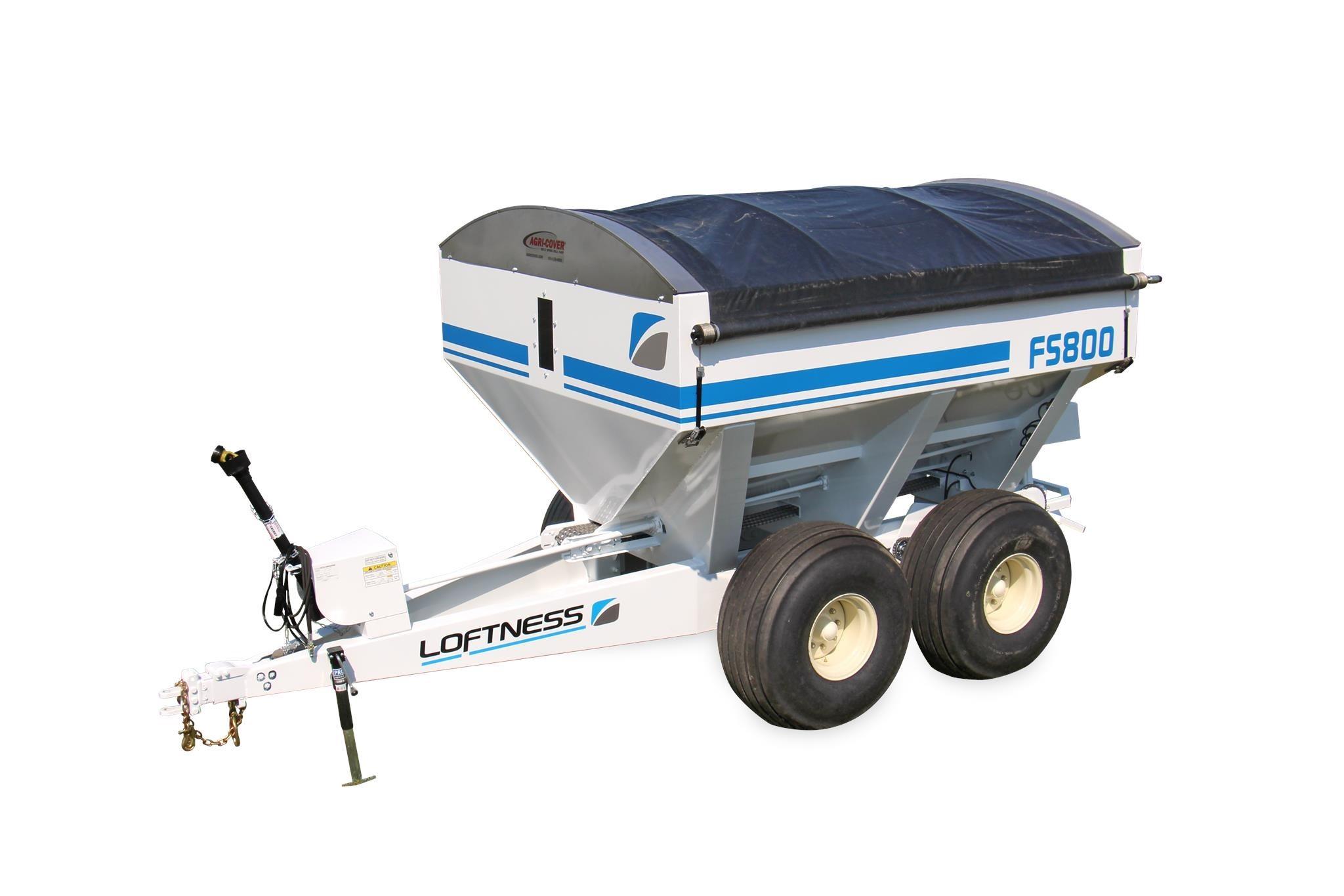 2020 Loftness FS800 Pull-Type Fertilizer Spreader