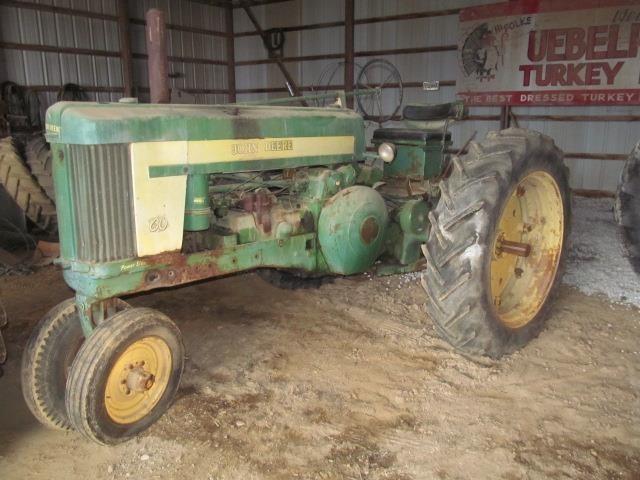 1955 John Deere 60 Tractor