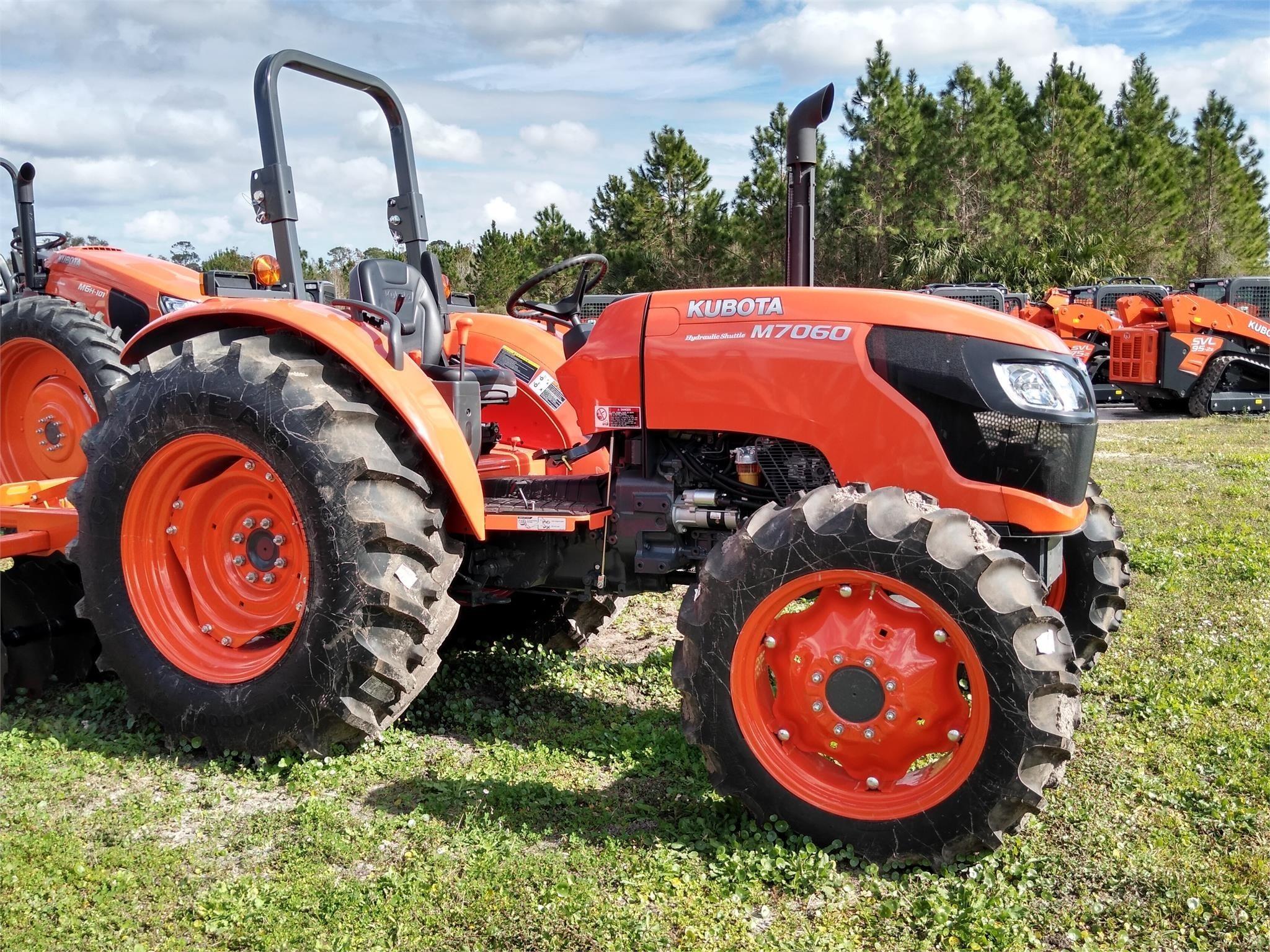 2019 Kubota M7060 Tractor
