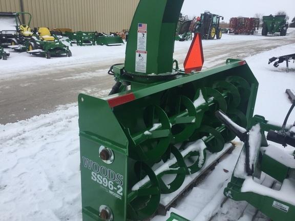 2015 Woods SS96 Snow Blower