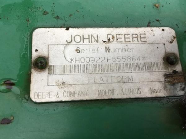 1994 John Deere 922 Platform