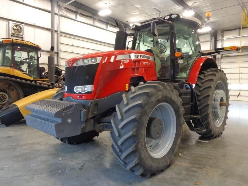 2015 Massey Ferguson 8727 Tractor