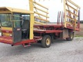 New Holland 1069 Bale Wagons and Trailer