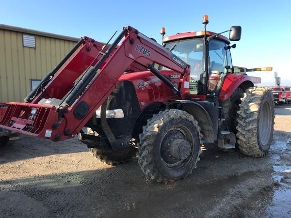 2013 Case IH Magnum 190 CVT Tractor