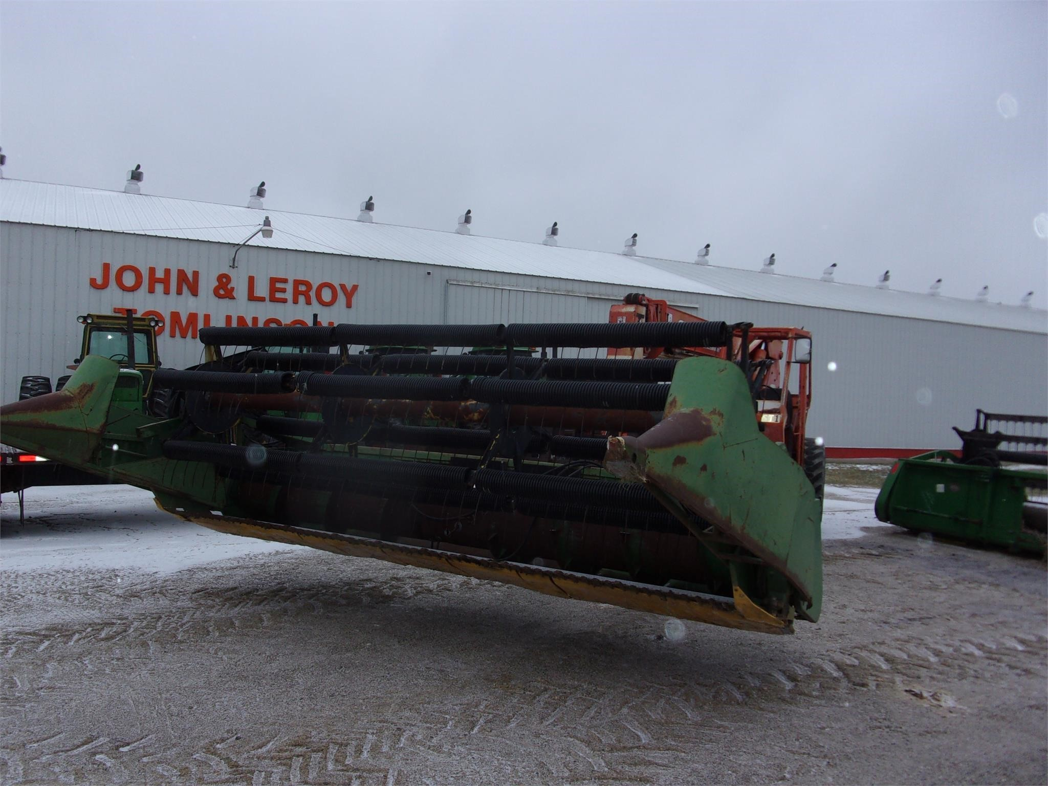 John Deere 215 Platform