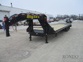 2019 Big Tex 22GN-25BK+5MR Flatbed Trailer