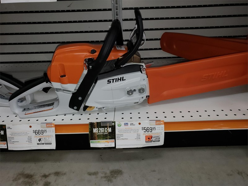 Stihl MS 261 C-M Lawn and Garden