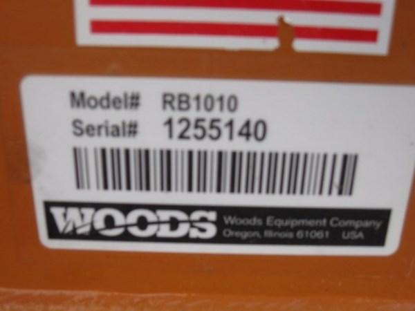 2013 Woods RB1010 Blade
