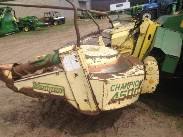 Kemper Champion 4500 Corn Head