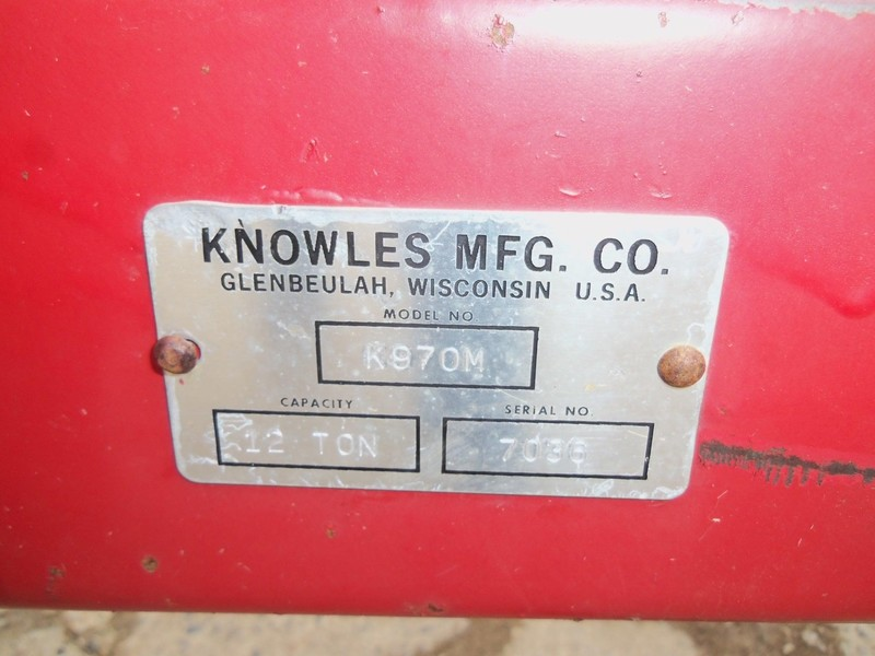 2018 Knowles K970M Miscellaneous