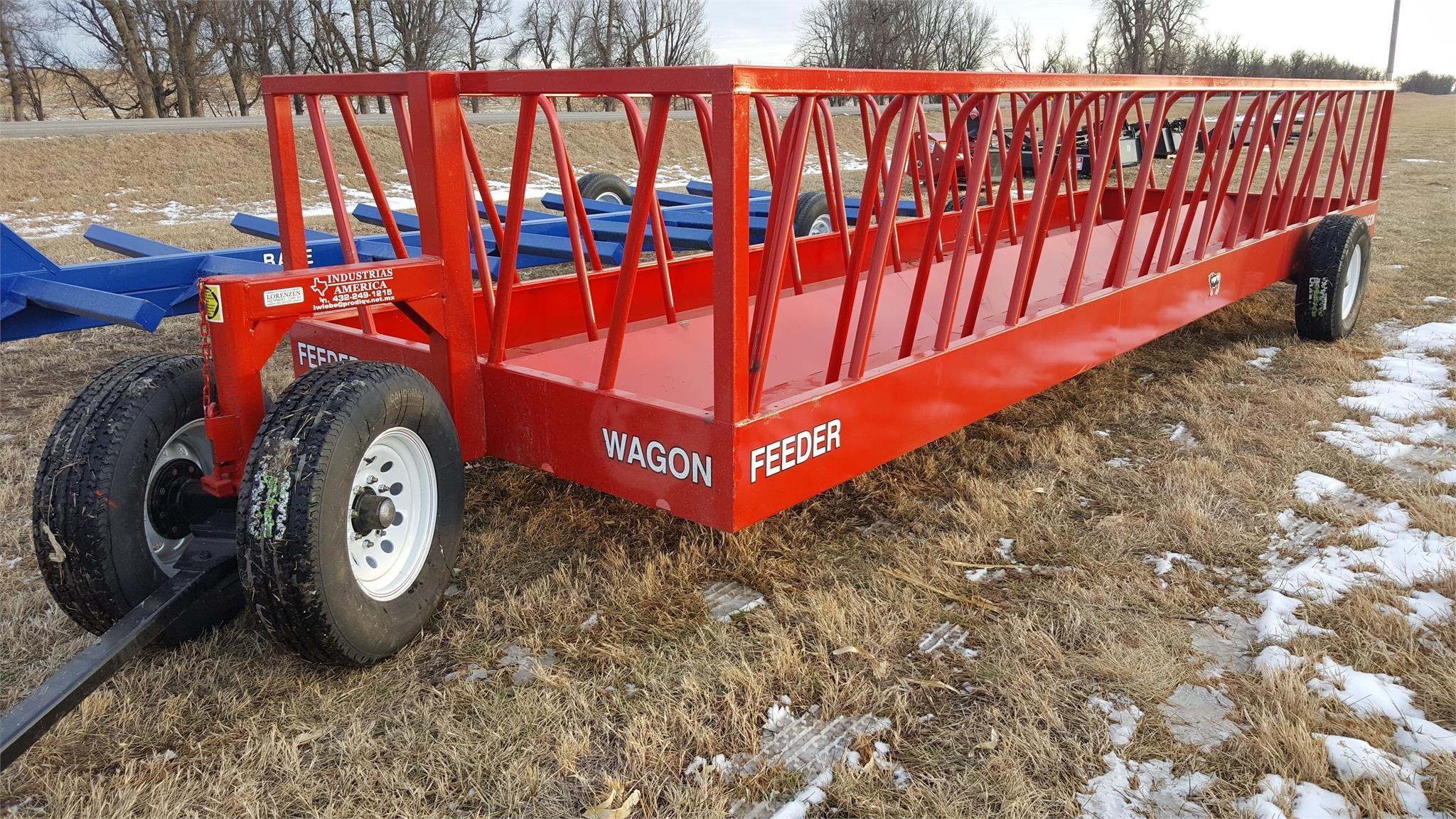 2021 Industrias America 82R Feed Wagon