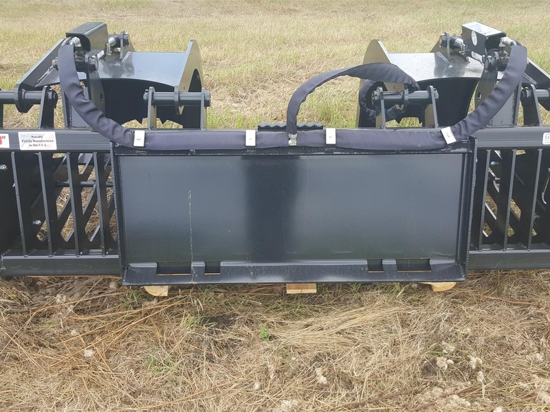 """2018 Custom Made 74"""" SKELETON GRAPPLE Loader and Skid Steer Attachment"""
