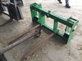 2002 John Deere Bale Spear Loader and Skid Steer Attachment