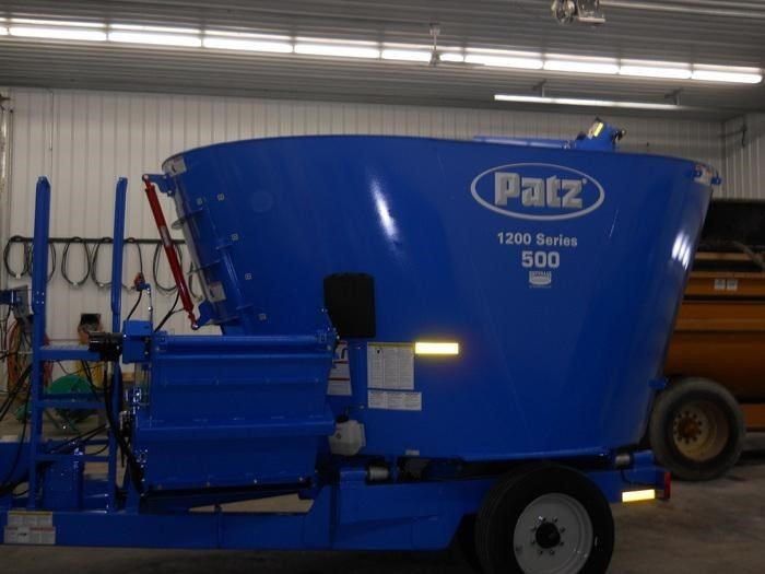 2019 Patz 500 Grinders and Mixer