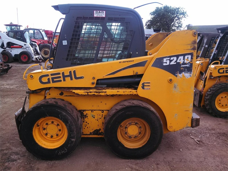 Used Gehl 5240E Skid Steers for Sale   Machinery Pete