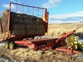 New Holland 1033 Bale Wagons and Trailer
