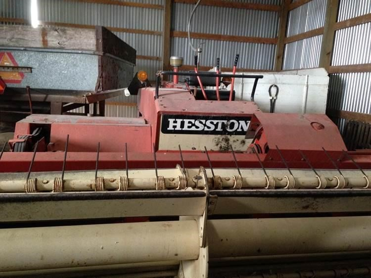 Hesston 6200 Self-Propelled Windrowers and Swather