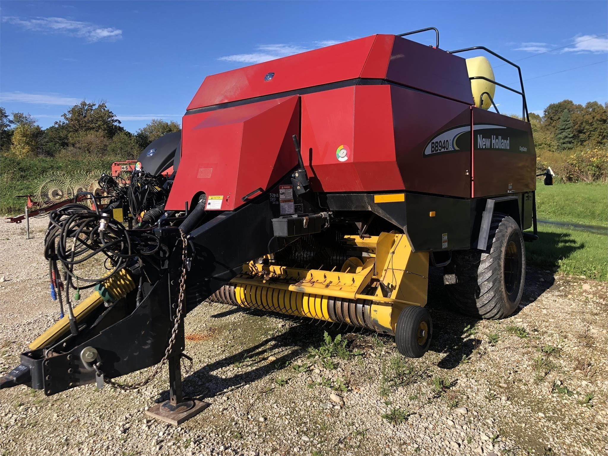 2003 New Holland BB940A Big Square Baler