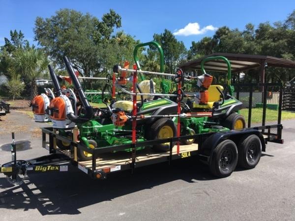 2018 John Deere Landscape Trailer Package Lawn and Garden