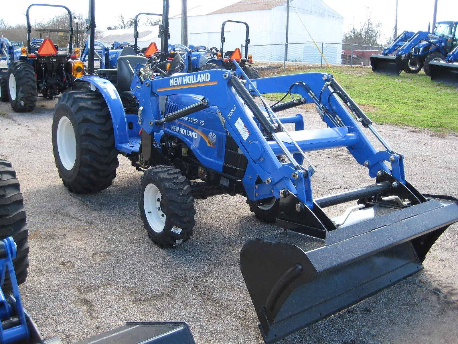 2021 New Holland Workmaster 25 Tractor