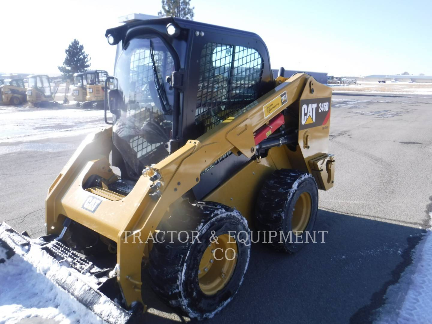 2018 Caterpillar 246D Skid Steer