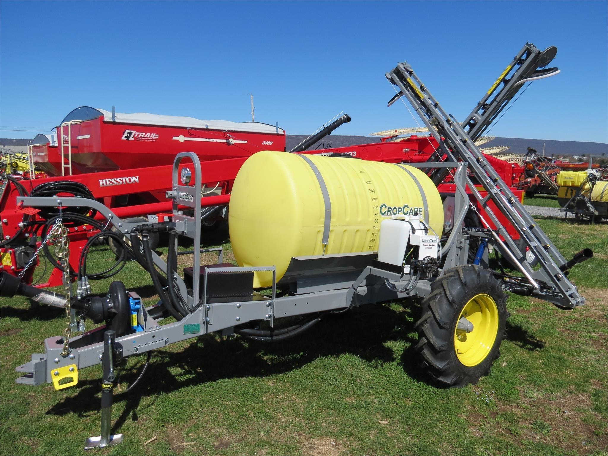 2021 CropCare AGX200 Pull-Type Sprayer