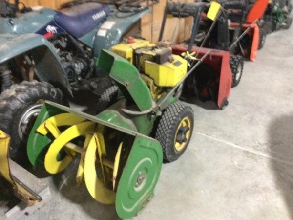 John Deere Snow Blowers for Sale | Machinery Pete