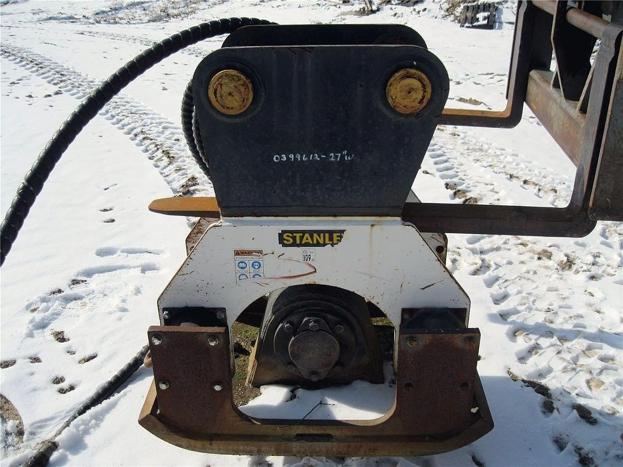 2006 Stanley PC 150 Compacting and Paving