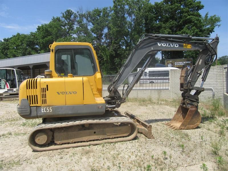 Used Volvo Excavators and Mini Excavators for Sale