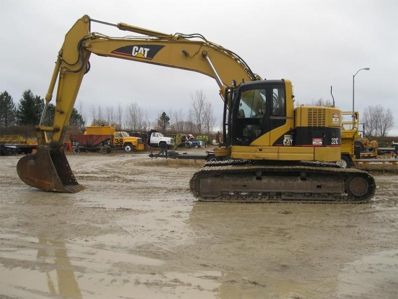 2008 Caterpillar 321C LCR Excavators and Mini Excavator