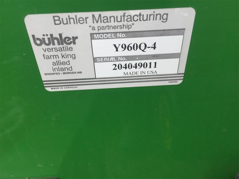 Buhler Farm King Y960Q4 Snow Blower