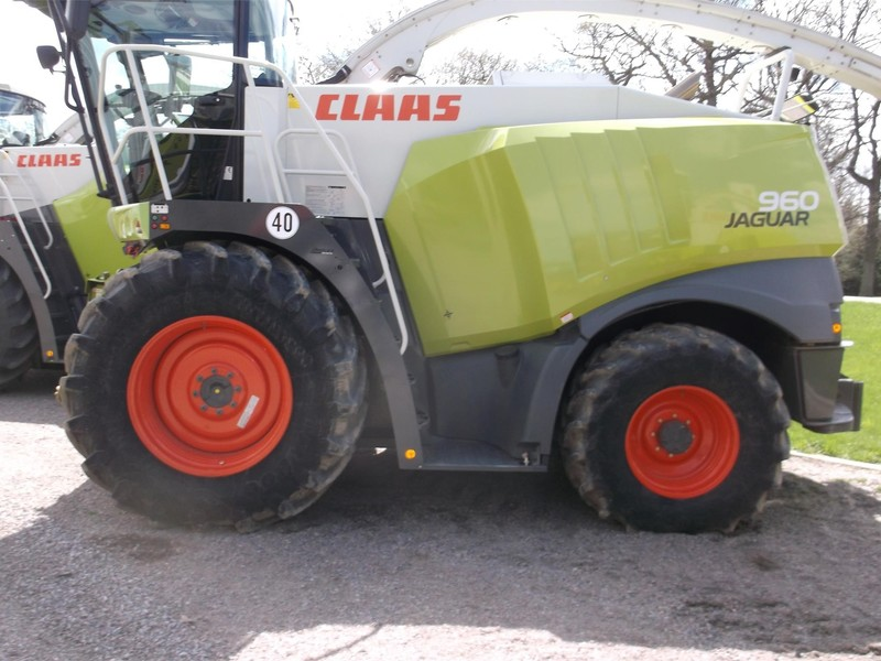 2013 Claas Jaguar 960 Self-Propelled Forage Harvester