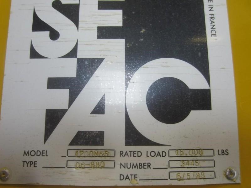 1988 SEFAC 1200M65 Miscellaneous
