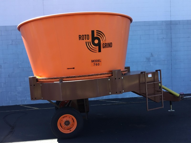 2014 Roto Grind 760T Grinders and Mixer