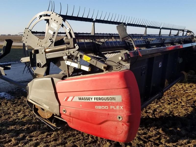 2010 Massey Ferguson 8200 Platform