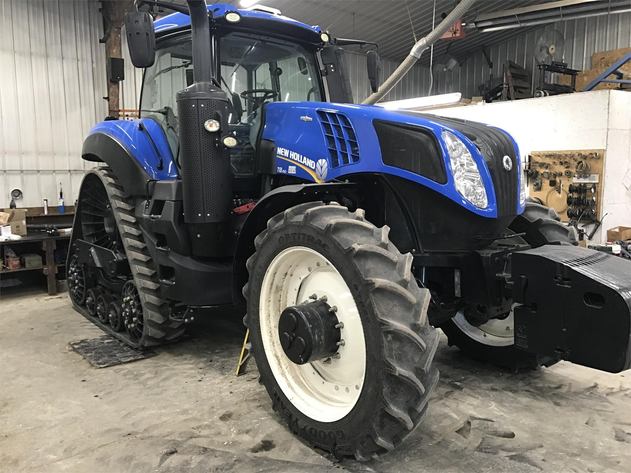 2015 New Holland Genesis T8.410 SmartTrax Tractor