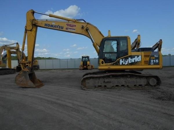 2011 Komatsu HB215 LC-1 Excavators and Mini Excavator