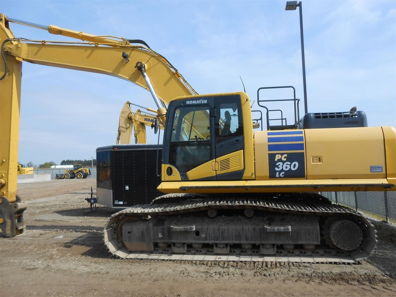 2013 Komatsu PC360 LC-10 Excavators and Mini Excavator