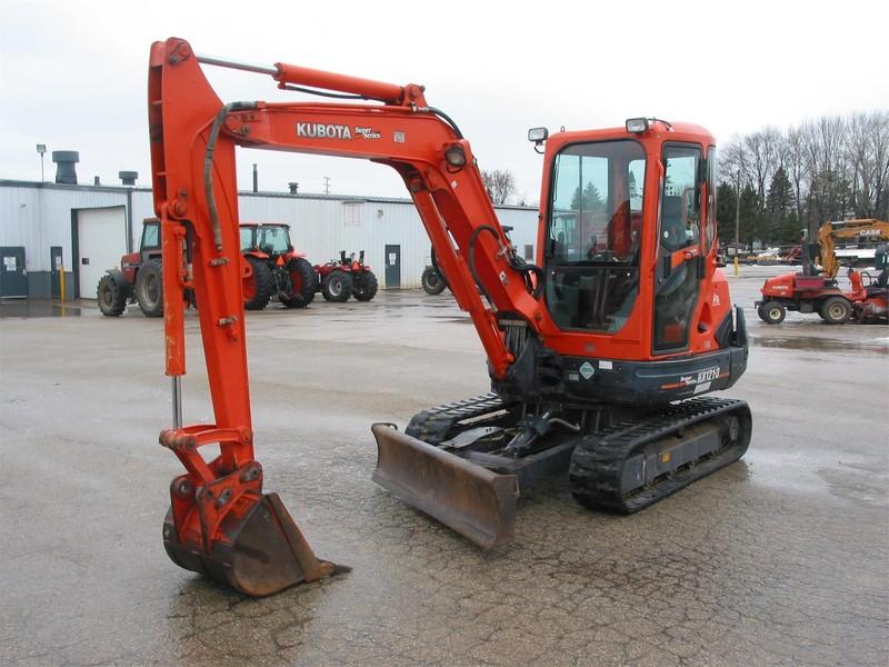 2008 Kubota KX121-3 Excavators and Mini Excavator
